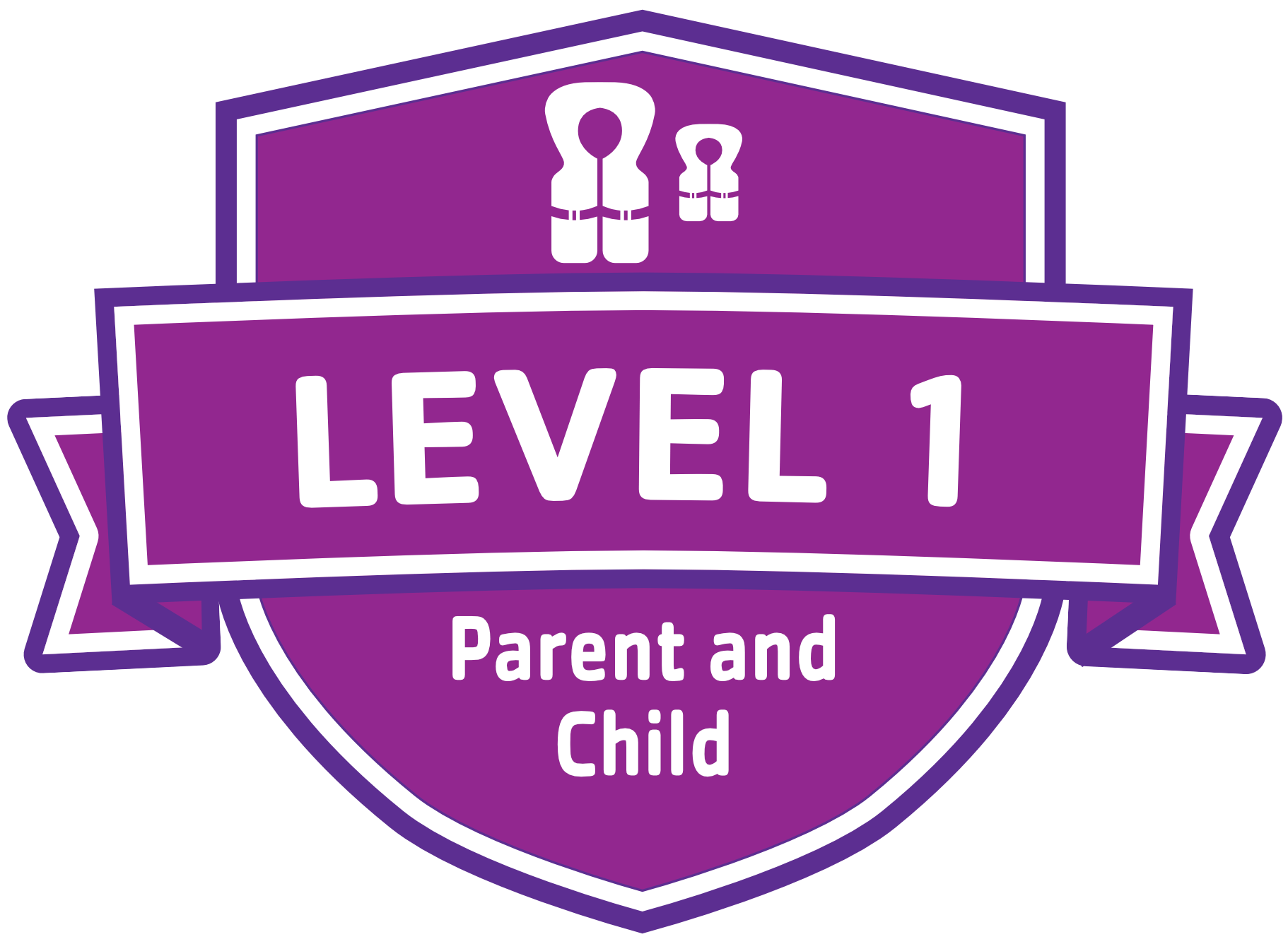 Parent Child Badge 1